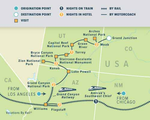 Train Vacations in USA   Tours & Vacation Packages in America